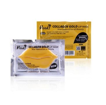 Moods Collagen Gold Lip Mask hydrożelowa maska do ust (8 g)