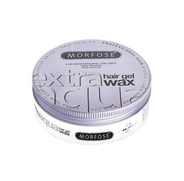 Morfose Extra Aqua Gel Hair Styling Wax wosk do stylizacji włosów o zapachu gumy balonowej Extra (150 ml)
