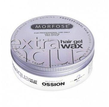 Morfose Extra Aqua Gel Hair Styling Wax wosk do stylizacji włosów o zapachu gumy balonowej Extra (175 ml)