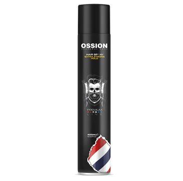 Morfose Ossion Premium Barber Hair Spray lakier do włosów Extra Strong (400 ml)