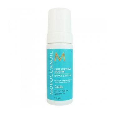 Moroccanoil Curl Control Mousse pianka zwiększająca kontrolę loków 150ml
