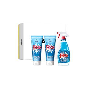 Moschino Fresh Couture zestaw woda toaletowa spray 100ml + balsam do ciała 100ml + żel pod prysznic 100ml
