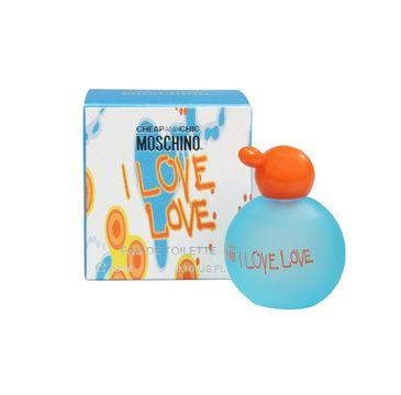 Moschino I Love Love woda toaletowa spray (4.9 ml)