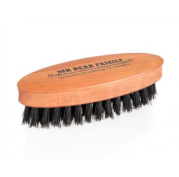 Mr. Bear Family Beard Brush Travel Size szczotka do brody (1 szt.)