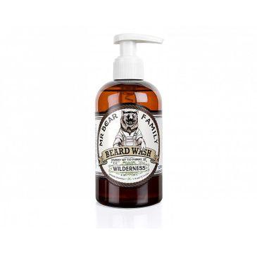 Mr. Bear Family Beard Wash płyn do mycia brody Wilderness (250 ml)