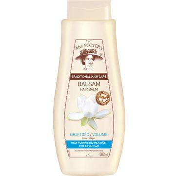 Mrs Potters balsam do każdego typu włosów lotos i kolagen 500 ml