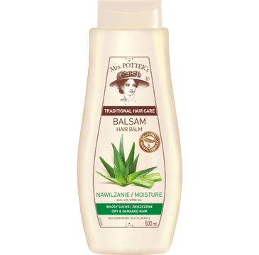 Mrs Potters balsam do włosów aloes i proteiny jedwabiu 500 ml