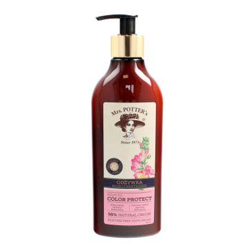 Mrs Potters Triple Flower odżywka do włosów farbowanych Color Protect 390 ml