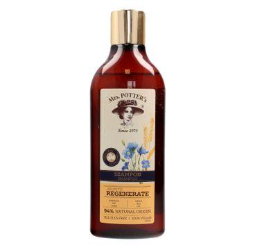 Mrs. Potter's Triple Grain szampon do włosów zniszczonych Regenerate 390 ml