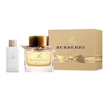 My Burberry – zestaw woda perfumowana spray 90ml + balsam do ciała 75 ml (1 szt.)
