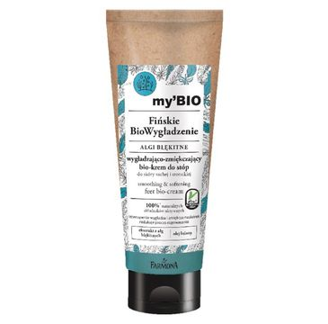 my'BIO – Fińskie BioWygładzenie, Algi Błękitne bio-krem do stóp (100 ml)