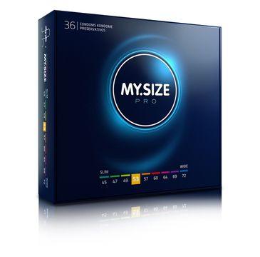 My.Size Pro Condoms prezerwatywy 53mm (36 szt.)