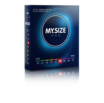 My.Size Pro Condoms prezerwatywy 60mm (3 szt.)