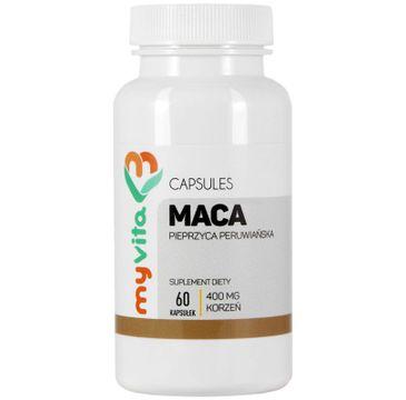 Myvita Maca 400mg suplement diety 60 kapsułek