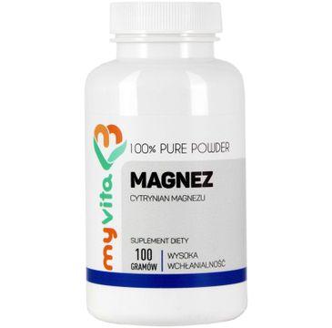 Myvita Magnez suplement diety w proszku 100g