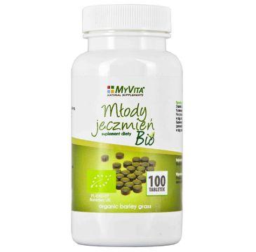 MyVita młody jęczmień Bio 500 mg 100 tabl.