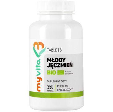 Myvita Młody Jęczmień Bio 500mg suplement diety 250 tabletek