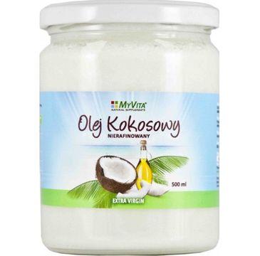 Myvita Olej Kokosowy nierafinowany 500ml