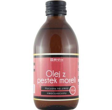 Myvita Olej z Pestek Moreli tłoczony na zimno nieoczyszczony 250ml