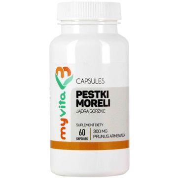 Myvita Pestki Moreli 300mg suplement diety 60 kapsułek