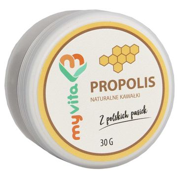 Myvita Propolis naturalne kawałki 30g