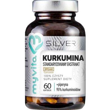 Myvita Silver Kurkumina 100% czysty suplement diety 60 kapsułek