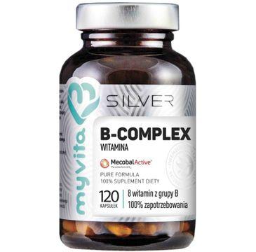 Myvita Silver Witamina B Complex 100% czysty suplement diety 120 kapsułek