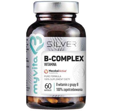 Myvita Silver Witamina B Complex 100% czysty suplement diety 60 kapsułek