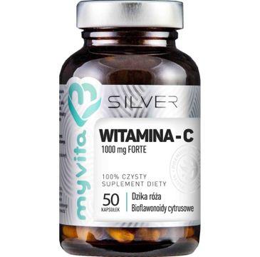 Myvita Silver Witamina C Forte 1000mg 100% czysty suplement diety 50 kapsułek
