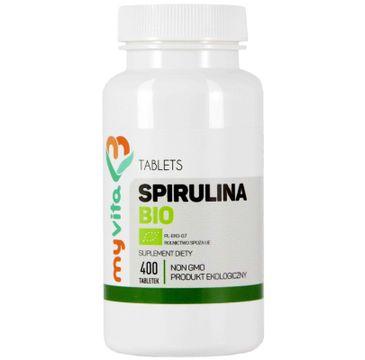 Myvita Spirulina Bio suplement diety 400 tabletek
