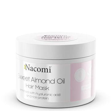 Nacomi – maska do włosów z olejem ze słodkich migdałów (200 ml)