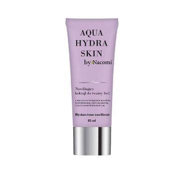 Nacomi Aqua Hydra Skin – nawilżający koktajl do twarzy 3w1 (85 ml)