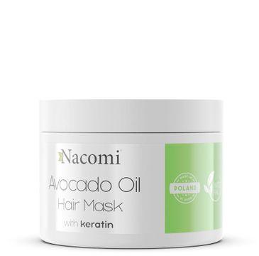 Nacomi Avocado Oil Hair Mask – maska do włosów z olejem awokado (200 ml)