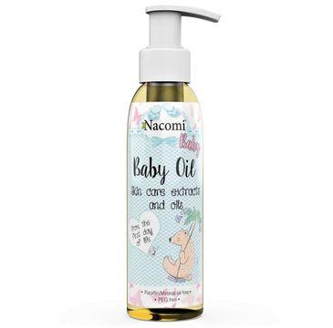 Nacomi Baby Oil – oliwka do ciała dla dzieci (130 ml)