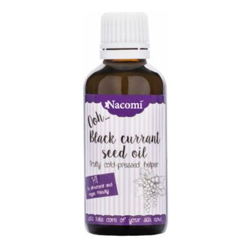 Nacomi – olej z nasion czarnej porzeczki (50 ml)