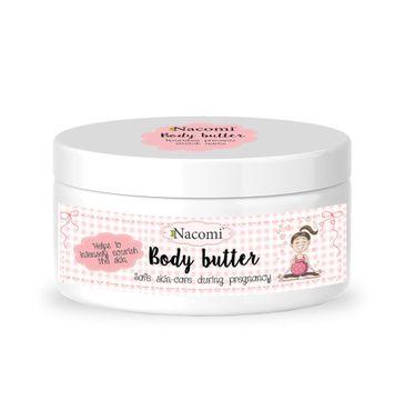 Nacomi – masło do ciała dla kobiet w ciąży (100 g)