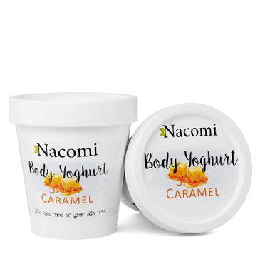 Nacomi Body Yoghurt – jogurt do ciała Słony Karmel (180 ml)