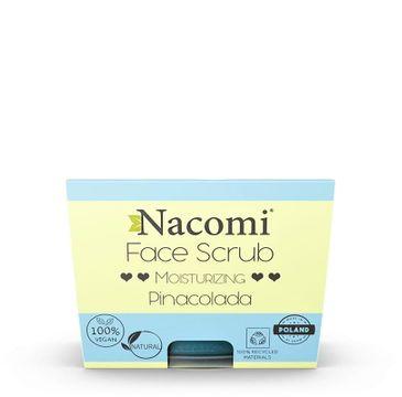 Nacomi Face Scrub Pinacolada – peeling nawilżający do twarzy i ust (80 g)