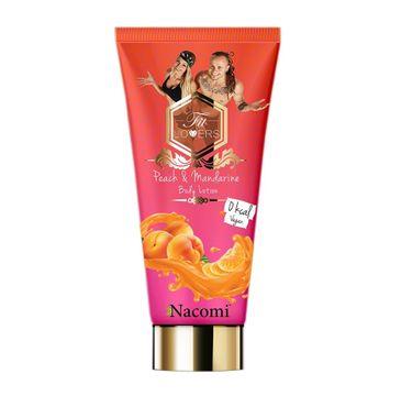 Nacomi Fit Lovers Body Lotion Vegan – antycellulitowy balsam do ciała Brzoskwinia & Mandarynka (200 ml)