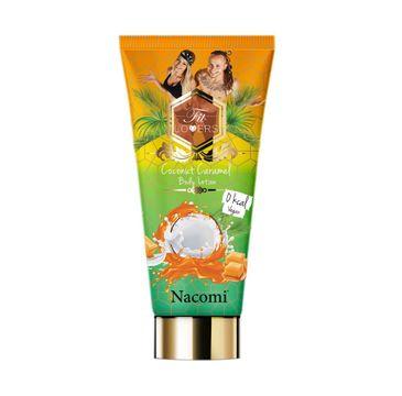 Nacomi Fit Lovers Body Lotion Vegan – antycellulitowy balsam do ciała Kokos & Karmel (200 ml)