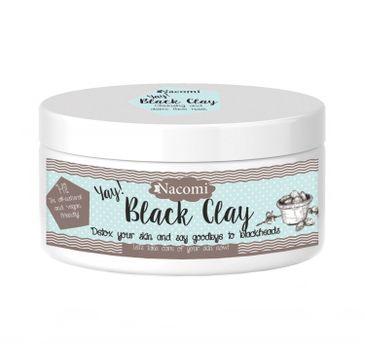 Nacomi Black Clay – czarna glinka (90 g)