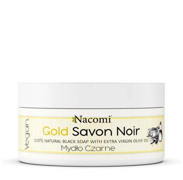 Nacomi Gold Savon Noir złote czarne mydło z oliwą z oliwek (125 g)