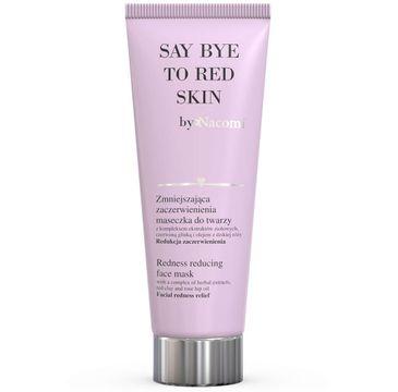 Nacomi Goodbye Red Skin – zmniejszająca zaczerwienienia maseczka do twarzy (85 ml)