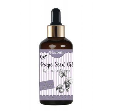 Nacomi – olej z pestek winogron z pipetą (50 ml)