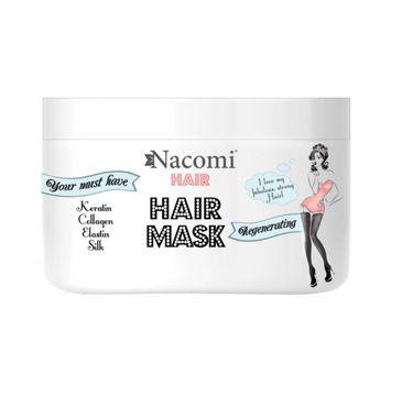 Nacomi Hair Mask – odżywczo-regenerująca maska do włosów (200 ml)