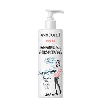 Nacomi Natural Shampoo – odżywczo-regenerujący szampon do włosów (250 ml)