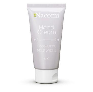 Nacomi Hand Cream – krem do rąk nawilżający (85 ml)