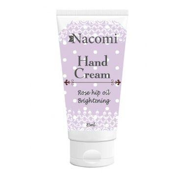Nacomi Hand Cream – krem do rąk rozjaśniający (85 ml)