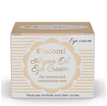 Nacomi Argan Oil Eye Cream – krem pod oczy arganowy (15 ml)