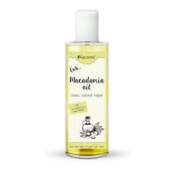 Nacomi Macadamia Oil 鈥� olej makadamia (250 ml)